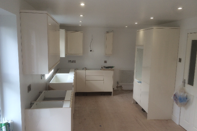 Kitchen installation (Before) | A4 Building Services | Salford, Greater Manchester