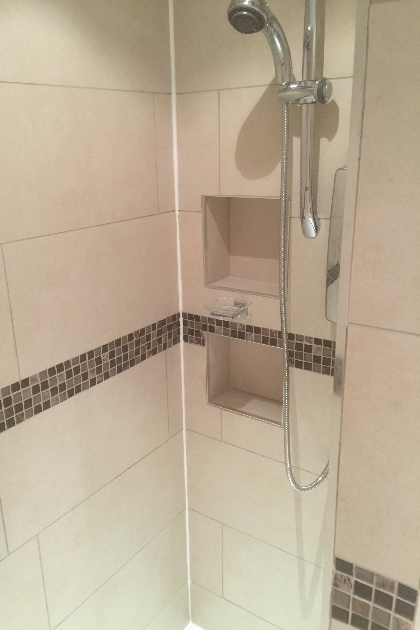 Bathroom installation | A4 Building Services | Salford, Greater Manchester