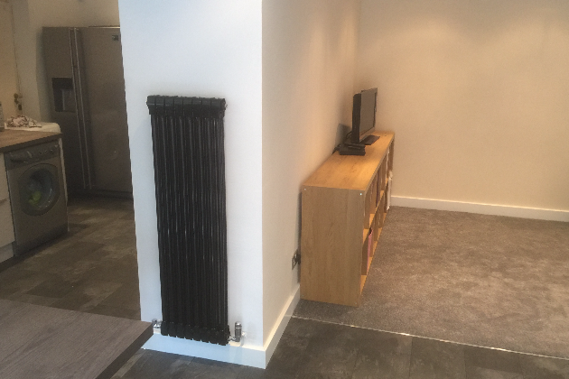 Designer radiator | A4 Building Services | Salford, Greater Manchester