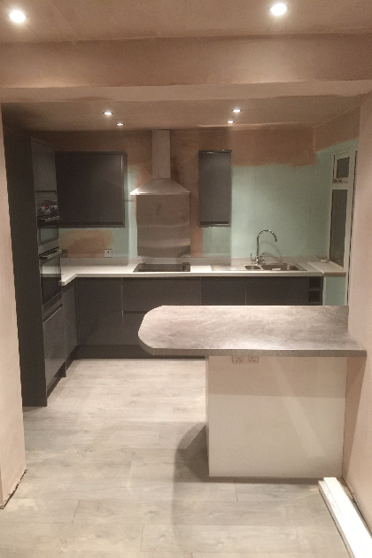 Kitchen installation | A4 Building Services | Salford, Greater Manchester