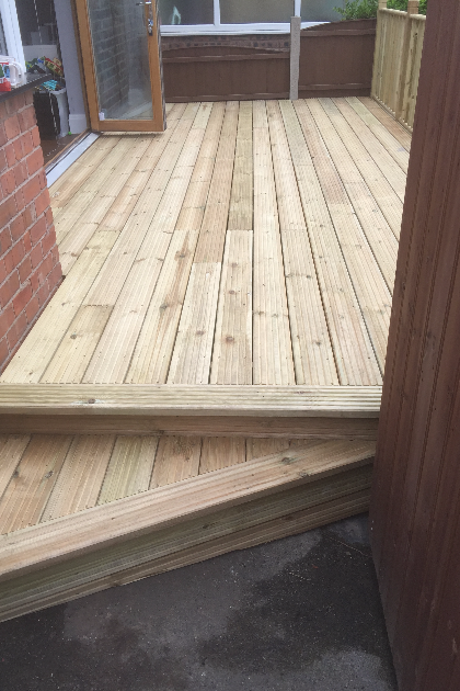 Decking | A4 Building Services | Salford, Greater Manchester