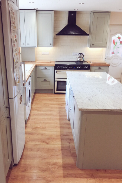 New kitchen installation | A4 Building Services | Salford, Greater Manchester