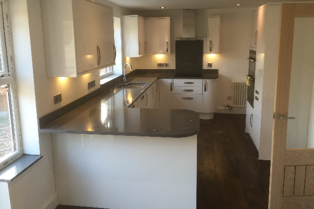 Finished Kitchen | A4 Building Services | Salford, Greater Manchester